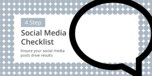 download your free social media checklist from themarblog.com