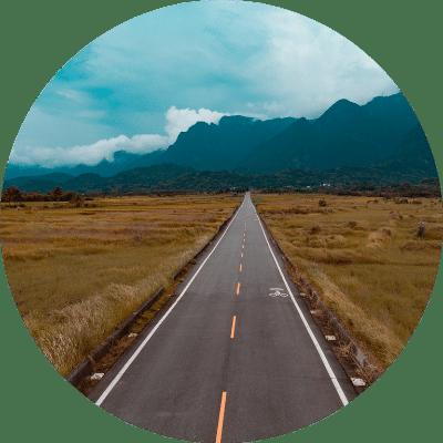 long road unsplash photo